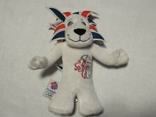 """9"""" Plush Olympic Official Mascot Team GB Pride The Lion London 2012 Stuffed"""