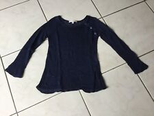 Pull BONPOINT taille 6 Ans 100% lin marine 120€