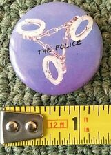 1980S VINTAGE ALBUM/PROMO PIN/BUTTON *THE POLICE*  FREE S&H