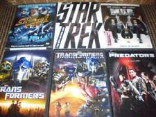 Action Sci-Fi Movie Lot+Transformers+Star Trek+Predators+Men In Black+Starship 2