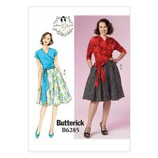 BUTTERICK SEWING PATTERN MISSES' GERTIE'S TOP & SKIRT SIZES 6 - 22  B6285