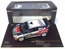 FORD FIESTA WRC #3 SIMONCELLI UK TEST  - IXO 1:43 DIECAST MODEL RALLY CAR RAM463