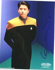 "Autographed 8""X10"" Photo - Garrett Wang as Harry Kim in Star Trek Voyager"