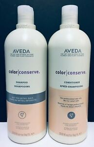 Aveda Color Conserve Shampoo & Conditioner - 33.8 fl oz each