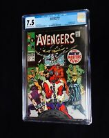 AVENGERS #54 CGC 7.5 1st app. of ULTRON & new Masters of Evil (July 1968) Marvel