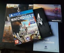 Watchdogs 2 Deluxe Edition - Lithographies/Map/Soundtrack ONLY---- (NO GAME)