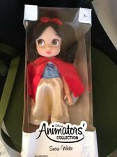 VINTAGE Disney Animators' Collection Snow White Doll with Bluebird - 16'' HTF