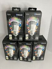 5 Tabu Lumen TL 800 Original Color Smart Bulbs LED Bluetooth 16 Million Colors