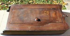 Antique Colonial Wall Cabinet Cupboard Massachusetts c. 1790-1820's Unmarked