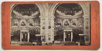 Nikolai Chiesa Berlino Germania Foto Stereo Vintage Albumina