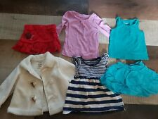 Lot of 6 Assorted Infant Girls Clothes Size 12 Months (jacket 12-18months)