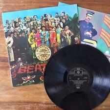 The Beatles Sgt Peppers (Parlophone PCS 7027) Ex/Ex 2 Box EMI 1993 Press Cutout