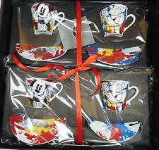 Espresso 4x Cups Tassen Disney Donald Mickey Mouse Espresso geschenkset Egan