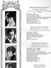 1923 Newton MA High School Yearbook~Photos~History~Football~Baseball~Golf~Ads~++