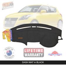 DASH MAT Suzuki Swift Sport AHZ414 ALL Models Jan/2011-4/2017 DM1206 BLACK
