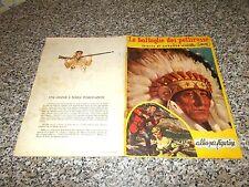 ALBUM LE BATTAGLIE DEI PELLIROSSE ED.ATTUALITA 1956 ORIG. COMPLETO OTTIMO WEST