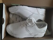 SUPRA NOIZ  sneakers gympen LEATHER TRENDY SHOES ARMANI LOOK WHITE