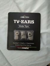 3 Pair Replacement Tips For TV Ears Original, Digital 5.0 Headsets Portable New