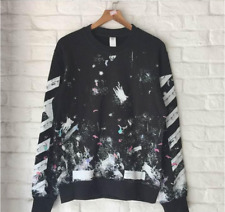 Off-White GALAXY FIREWORKS Sweatshirt Sweater Hoodie Virgil Abloh C/O 2017 AW