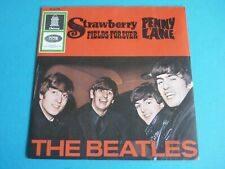"""The Beatles - Strawberry Fields Forever Orig 7"""" Single German 1967 Odeon O 23436"""