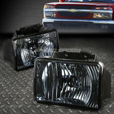 FOR 04-12 CHEVY COLORADO/GMC CANYON SMOKED LENS OE BUMPER DRIVING FOG LIGHT LAMP