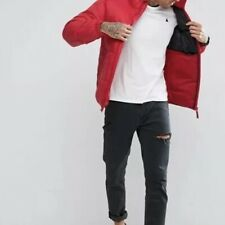 Pull & Bear Puffer Jacket In Red SizeUKXL {N52}