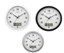 Champion wall clock Calendar Analogue Digital  Silent sweep 12 Months warranty