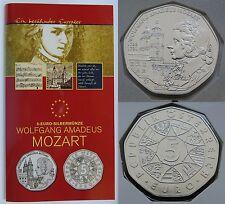 5 Euro 2006 - Österreich - Wolfgang Amadeus Mozart - Hgh