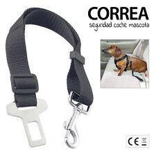 CORREA COLLAR CINTURON SEGURIDAD DE MASCOTA COCHE perro gato asiento trasero