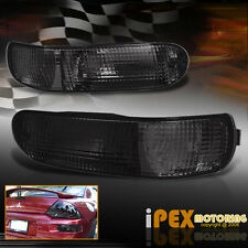 2000-2005 Mitsubishi Eclipse Smoked Rear Bumper Parking Light Signal Lamps