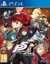 Persona 5 Royal lanzamiento Edition (PS4) + Edición Limitada Steelbook Case. nuevo Y Sellado
