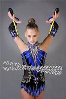 Rhythmic Gymnastics Leotard.Competition Acro Baton Twirling Dance Tap Costume