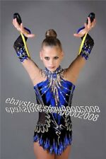 Rhythmic Gymnastics Leotard.Competition Acro Baton Twirling Dance Tap Costume