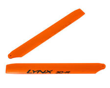 "LYX71601-PE Lynx Heli 180CFX 160mm ""Pro Edition"" Plastic Main Blade Set (Orange)"
