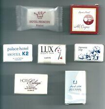 SAPONETTE HOTEL - 7 saponette da collezione.