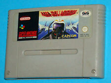 U.N. Squadron - Super Nintendo SNES Nintendo - PAL