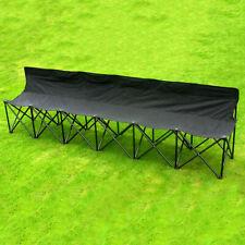 Portable Folding Bench 6-Seater Samba Sports Watching Subs Camping Garden w/ Bag