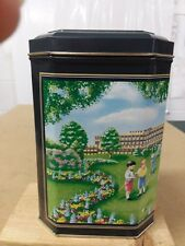 Vintage Advertising Ad Hershey's Hugs Ice Cream Social 1994 Litho Metal Tin Can