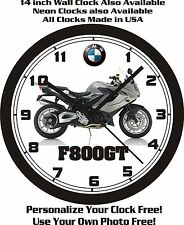 2016 BMW F800GT MOTORCYCLE WALL CLOCK-FREE USA SHIP!