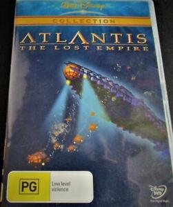 Atlantis - The Lost Empire - DVD - Region 4
