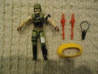 Vintage GI Joe Backblast (V1) 1989 Hasbro Action Figure w/Missiles,Bandolier