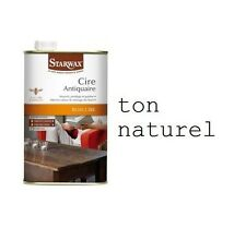 CIRE ANTIQUAIRE LIQUIDE BOIS INCOLORE ton naturel 1L STARWAX 84