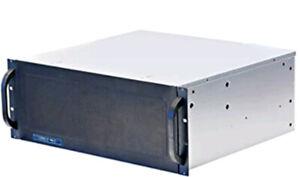 "Norco 4U Rackmount Case RPC-431, NO PSU, 9 x 3.5"" HDD bays, NEW"