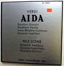 Verdi AIDA / NILE SCENE 3LP Classical MINT-   cla106