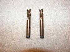 2) 8mm Cobalt Spot Weld Drill Bit Cutters made in USA