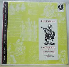 Richard Schulze TELEMANN 3 Concerti - Vox STDL 500.590 SEALED