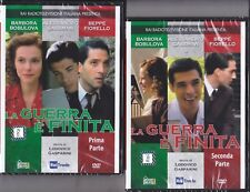 2 Dvd Rai Fiction LA GUERRA E' FINITA con Alessandro Gassman Beppe Fiorello 2002