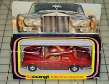 Vintage 1979 Corgi 279 Rolls Royce Corniche