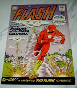 Flash #111 NM 9.4 Cr/OW pages 1960 DC 2nd Kid Flash, full page ad for B&B #28