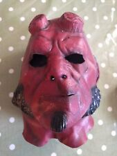 Hellboy Adult Full Face Mask Excellent Condition Worn Once!
